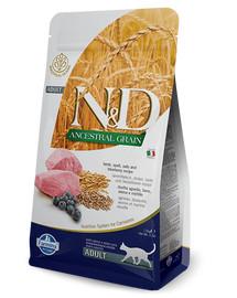 FARMINA N&D Low Ancestral Grain Lamb & Blueberry Adult Cat 5 kg